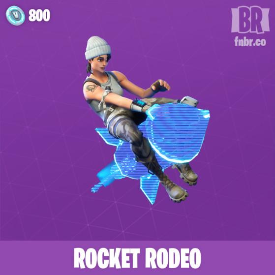 Rodéo sur roquette - Fortnite : Battle royale