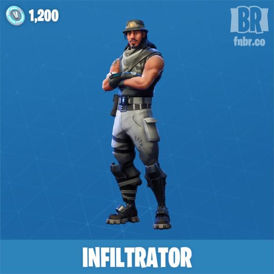 Infiltrateur - Fortnite : Battle royale