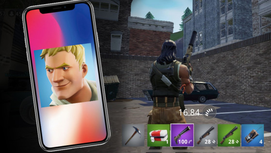Fortnite android : apk - Millenium