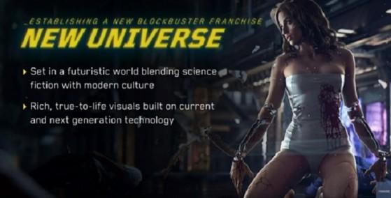 Cyberpunk 2077 serait un jeu crossgen