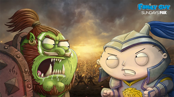 Wow : Les Griffin version World of Warcraft (Family Guy)