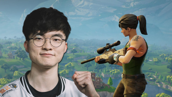 SKT : Faker arrête League of Legends et se met à Fortnite