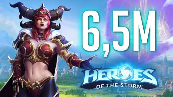 HotS - 6,5 millions de joueurs