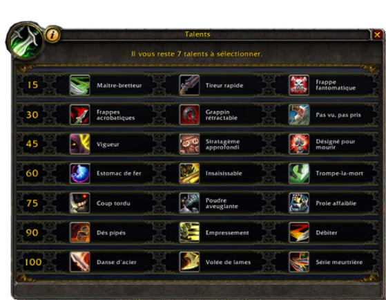 Talents BFA - World of Warcraft
