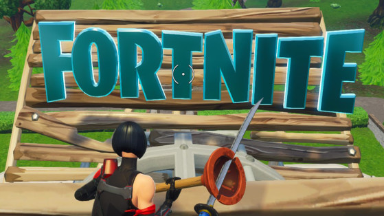 Fortnite : défi, emplacement des lettres F-O-R-T-N-I-T-E
