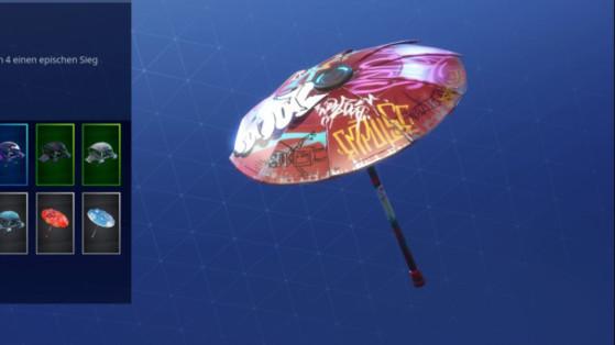 Fortnite : parapluie saison 4