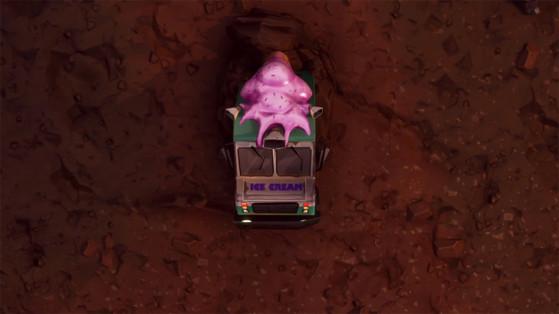 Fortnite : le coffre du camion de glace de Dusty