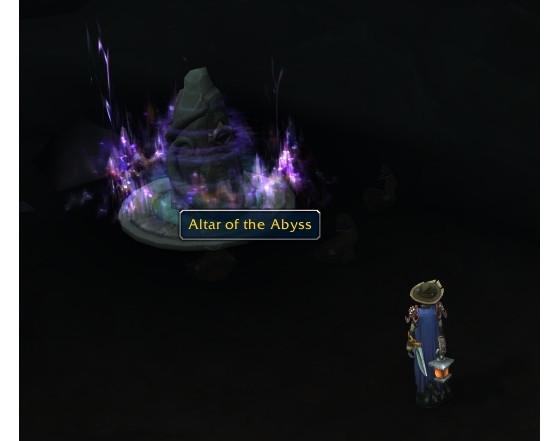 Vous devrez apporter vos fragments devant cet Autel - World of Warcraft