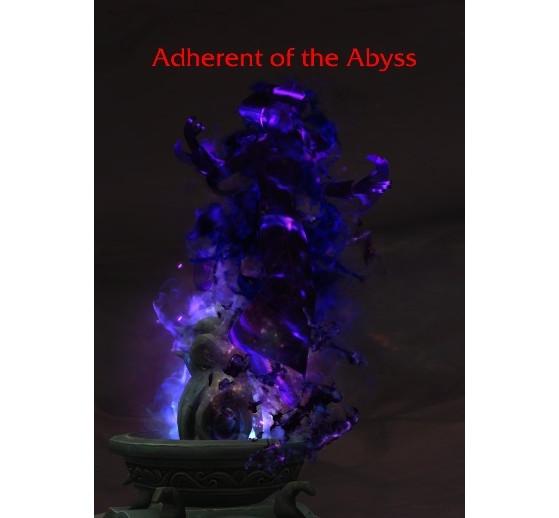 L'adhérent des abysses, dernier obstacle à votre parcours - World of Warcraft