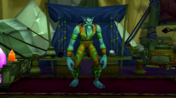 Griftah à Shattrath, dans la Ville basse - World of Warcraft