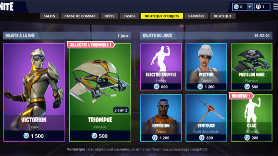 Fortnite boutique du 21 mai millenium for World no 1 home
