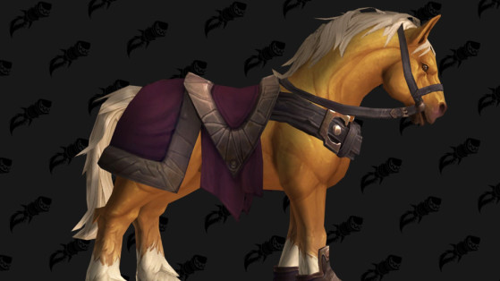 WoW BFA Monture : Crin d'or (Goldenmane)