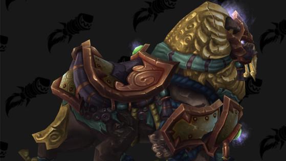 WoW BFA Monture : Molosse éternel de Qinsho (Qinsho's Eternal Hound)