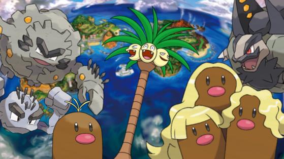 Pokémon GO : liste des formes d'Alola disponibles en jeu