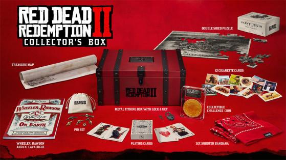 Red Dead Redemption 2 : édition collector, bonus de précommande