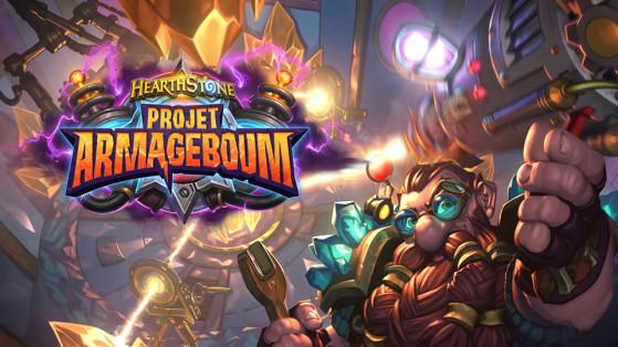 Hearthstone extension Projet Armageboum : plateau de jeu