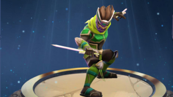 MMEG : Glyphes Ninja Kabuki terre, build et runes