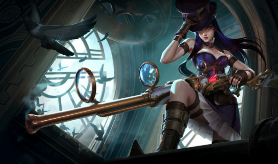 Avec l'arrivée du patch 8.11, Caitlyn avait échoué dans le « poubelle tier » - League of Legends