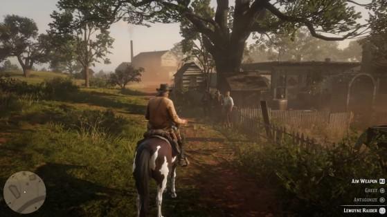Alors, ces lascars, on les plombe ou on leur intime gentiment de se calmer ? - Red Dead Redemption 2