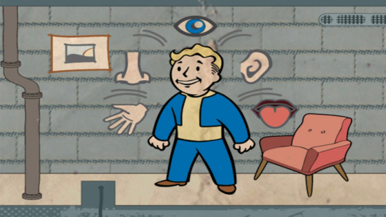 Cartes Fallout 76 : Perception
