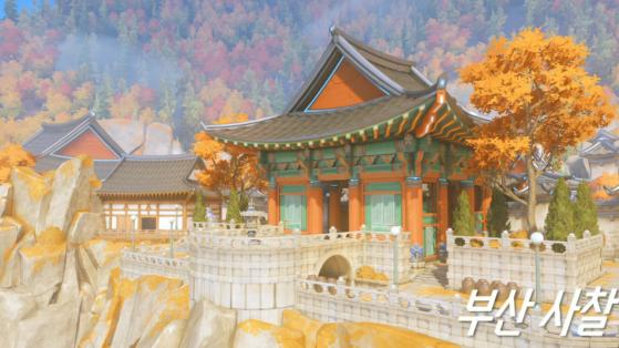 Overwatch Map de contrôle KOTH : Busan