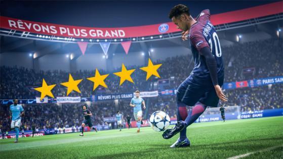 FIFA 19 : les joueurs 5 étoiles de gestes techniques