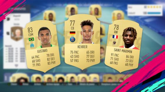 FUT 19 : Ligue 1, joueurs pas chers
