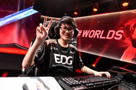 Meiko s'est imposé comme l'homme fort d'Edward Gaming cette saison - League of Legends