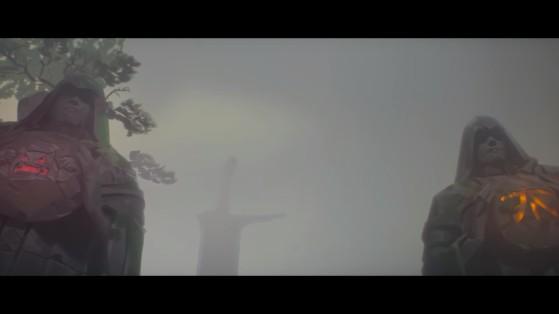 Les Statues des anciens champions: les Taipai Assassins et les Fnatic - League of Legends