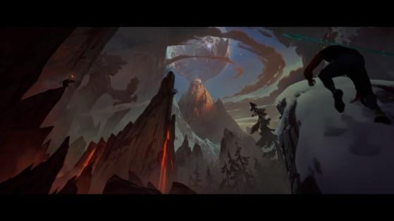 Riven à gauche - League of Legends