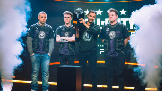 Millenium CoD double champion d'Europe. - Millenium