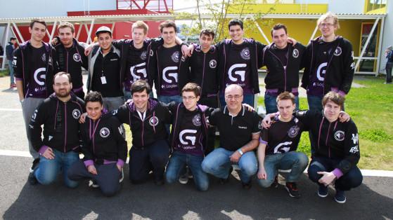 Les joueurs et le staff Millenium à la GA 2015 - Millenium