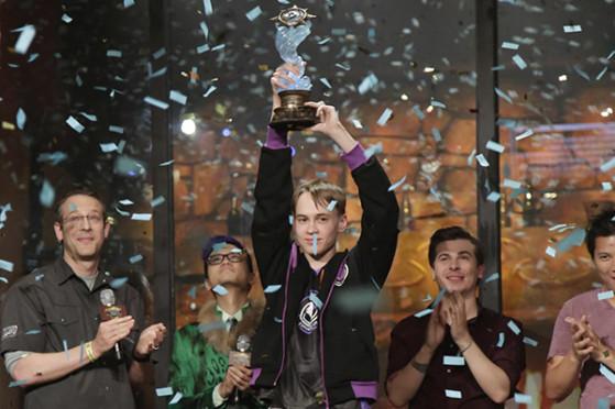 Pavel champion du monde Hearthstone - Millenium