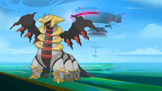 Pokémon GO : Capturer Giratina et meilleurs counters, Raid