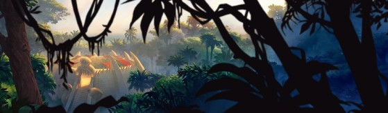 L'Arène Gurubashi, en plein coeur de la forêt de Strangleronce - Hearthstone
