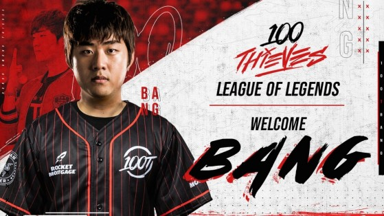LCK Mercato : Bang rejoint 100Thieves