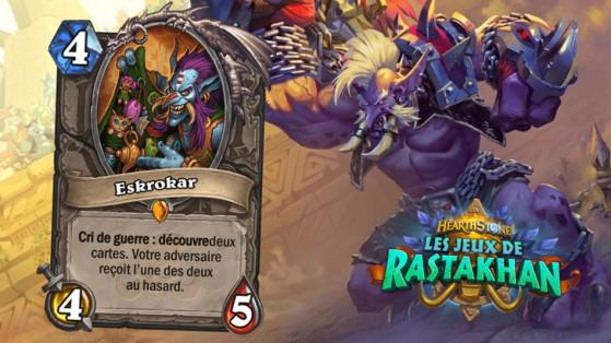 Hearthstone Jeux de Rastakhan : Eskrokar (Griftah)