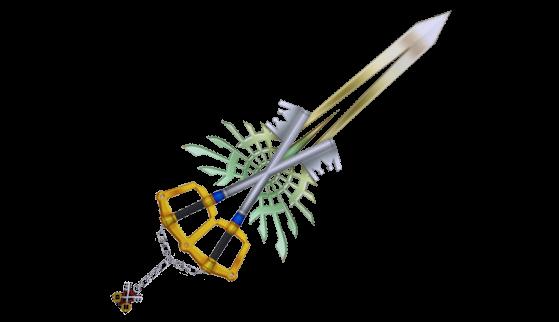 La X-Blade sous sa forme complète. - Kingdom Hearts 3