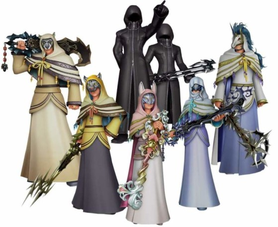 Le Maître des Maîtres et ses 6 apprentis - Kingdom Hearts 3