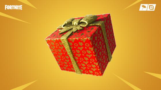 Fortnite : cadeaux