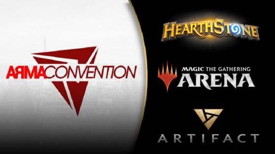 Hearthstone, Magic Arena, Artifact : Arma Convention TCG