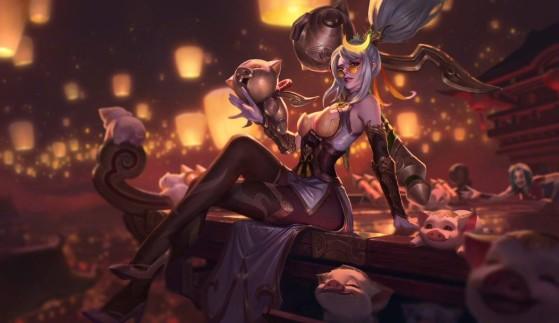 Le prochain skin édition prestige, Vayne artificière - League of Legends