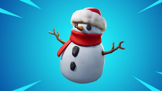 Fortnite : bonhomme furtif, bonhomme de neige, nouvel objet