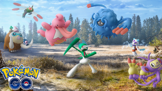 Pokemon GO : 12 nouveaux Pokémon de 4G