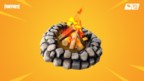 Fortnite : feux de camp, emplacements