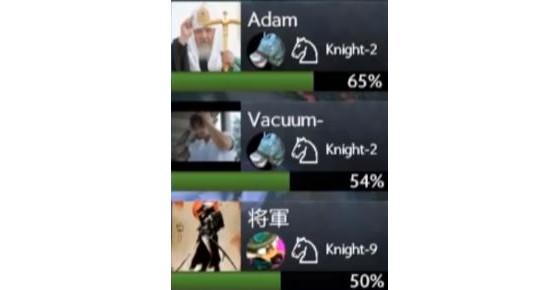 ...et les rangs des joueurs (Knight-X, Rook-X, etc...) - DotA 2