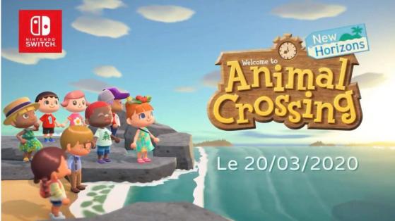 Animal Crossing New Horizons, date de sortie, Nintendo Switch, mars
