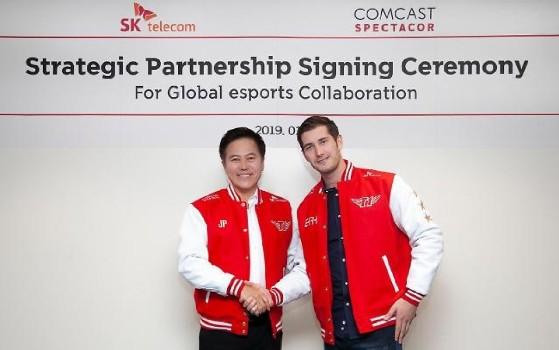 LoL - LCK : partenariat entre SK Telecom et Comcast, SKT devient T1