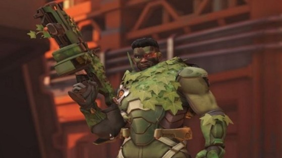 Overwatch : Baptiste, skin, camouflage, épique