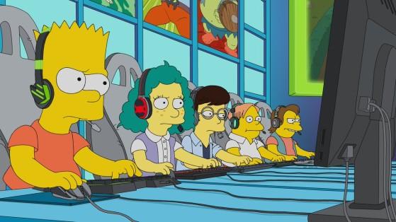 LoL : Un épisode des Simpsons centré sur League of Legends